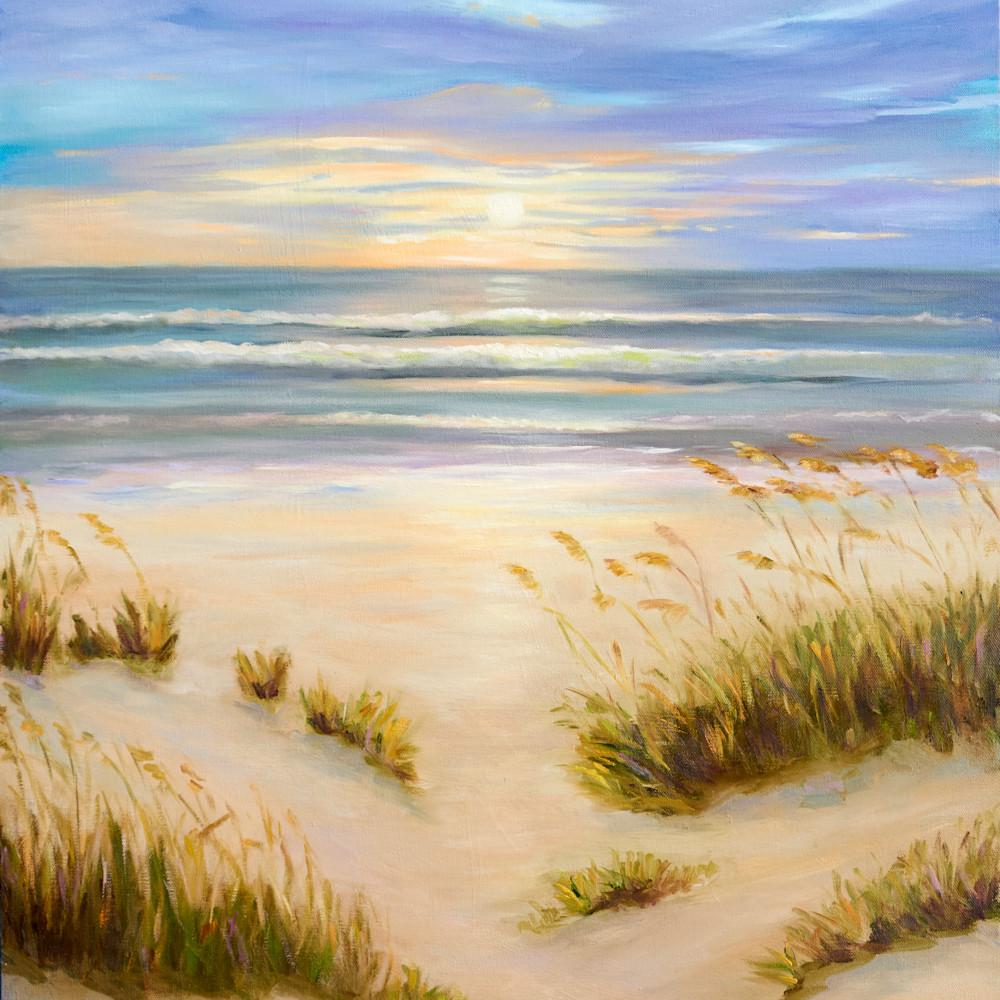 New smyrna beach dunes with grass uenm33