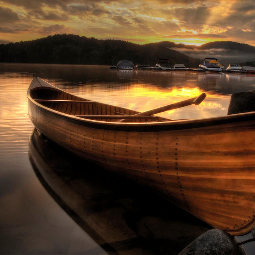 October sunrise on lake placid yjyblk