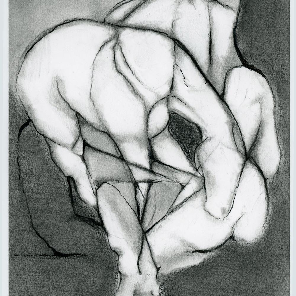 Horse 2 charcoal zi8nmg