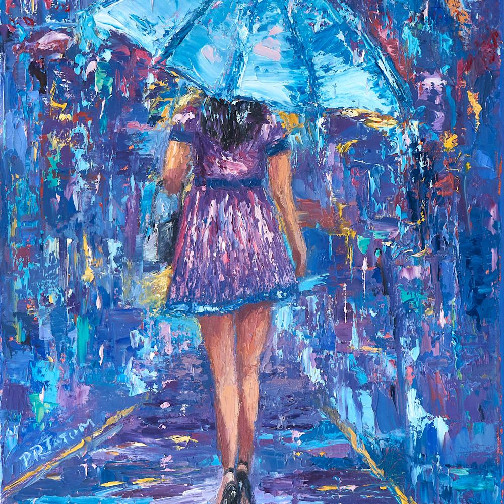 Under my blue umbrella iii vvvbgf