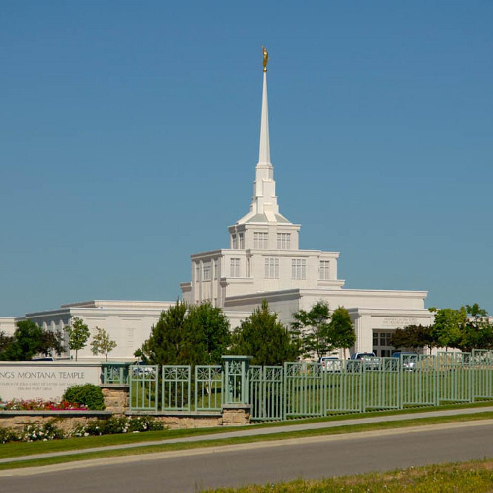Hank delespinasse billings temple   clear sky fcvpve