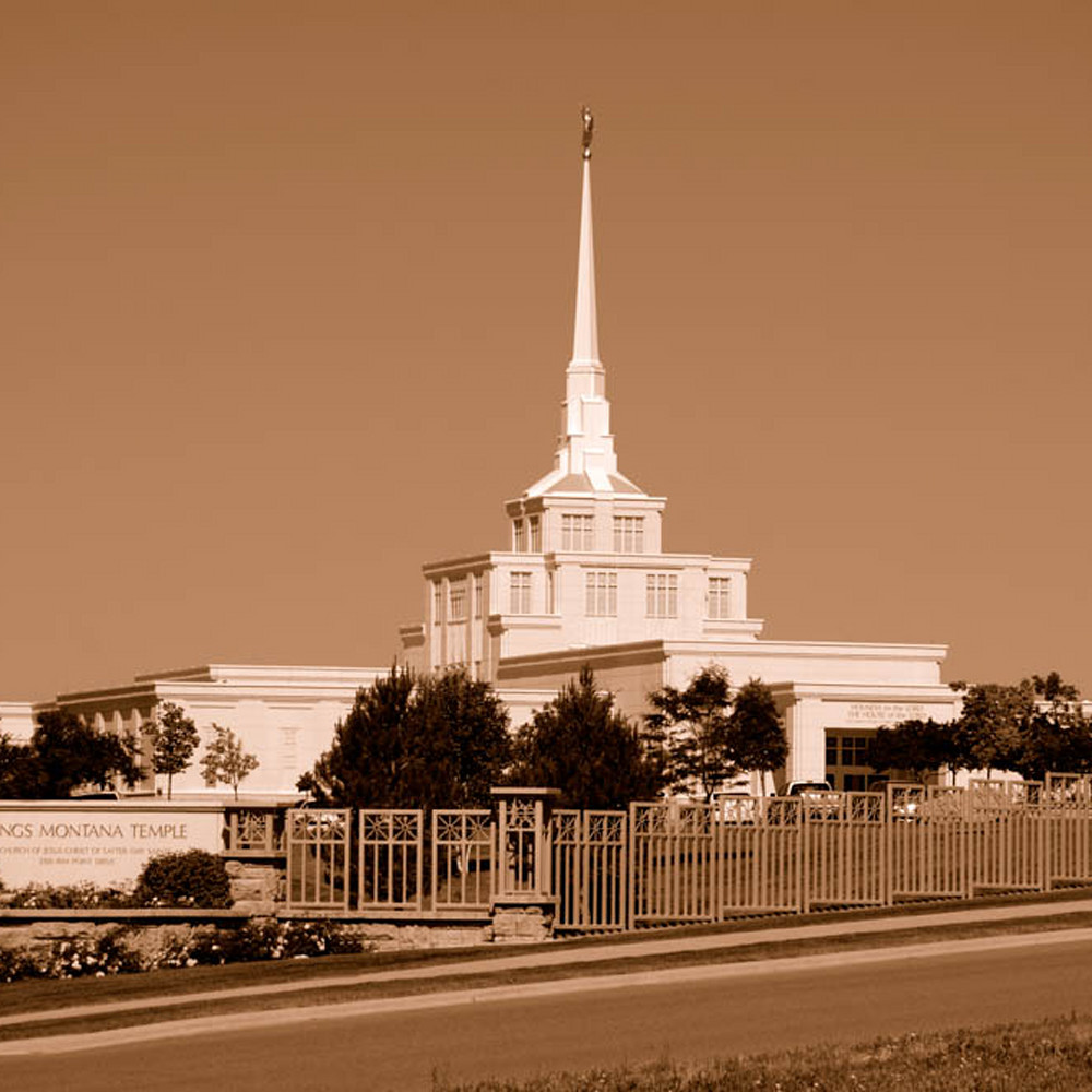 Hank delespinasse billings temple   clear sky in sepia zufzpi