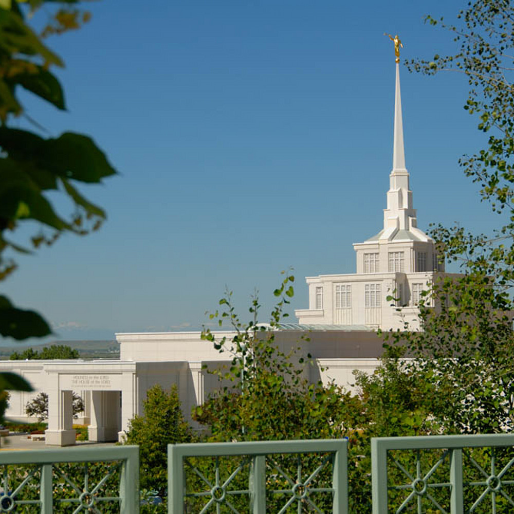 Hank delespinasse billings temple   fence foreground tfoh7w