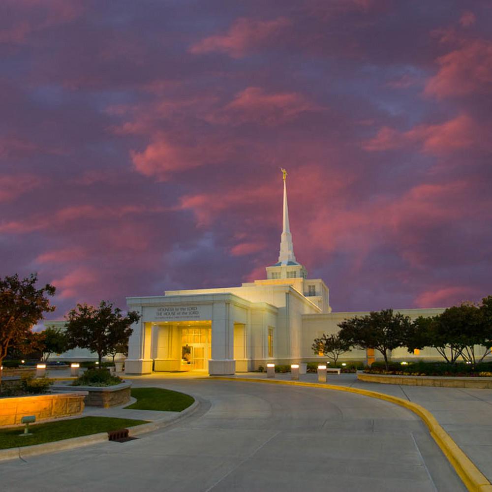 Hank delespinasse billings temple   purple clouds mo3l3n