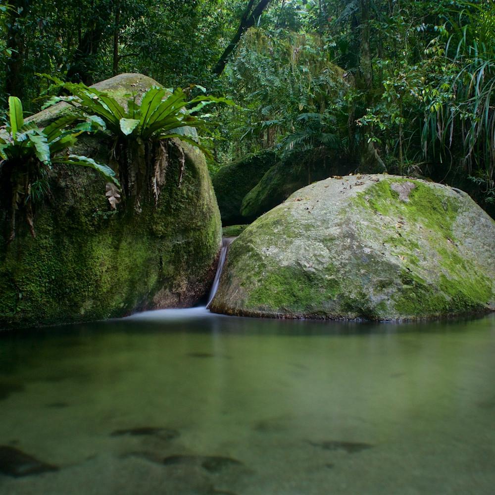 Kuku yalanji dreaming mossman gorge daintree rainforest queensland australia landscape photo print ucxhpm