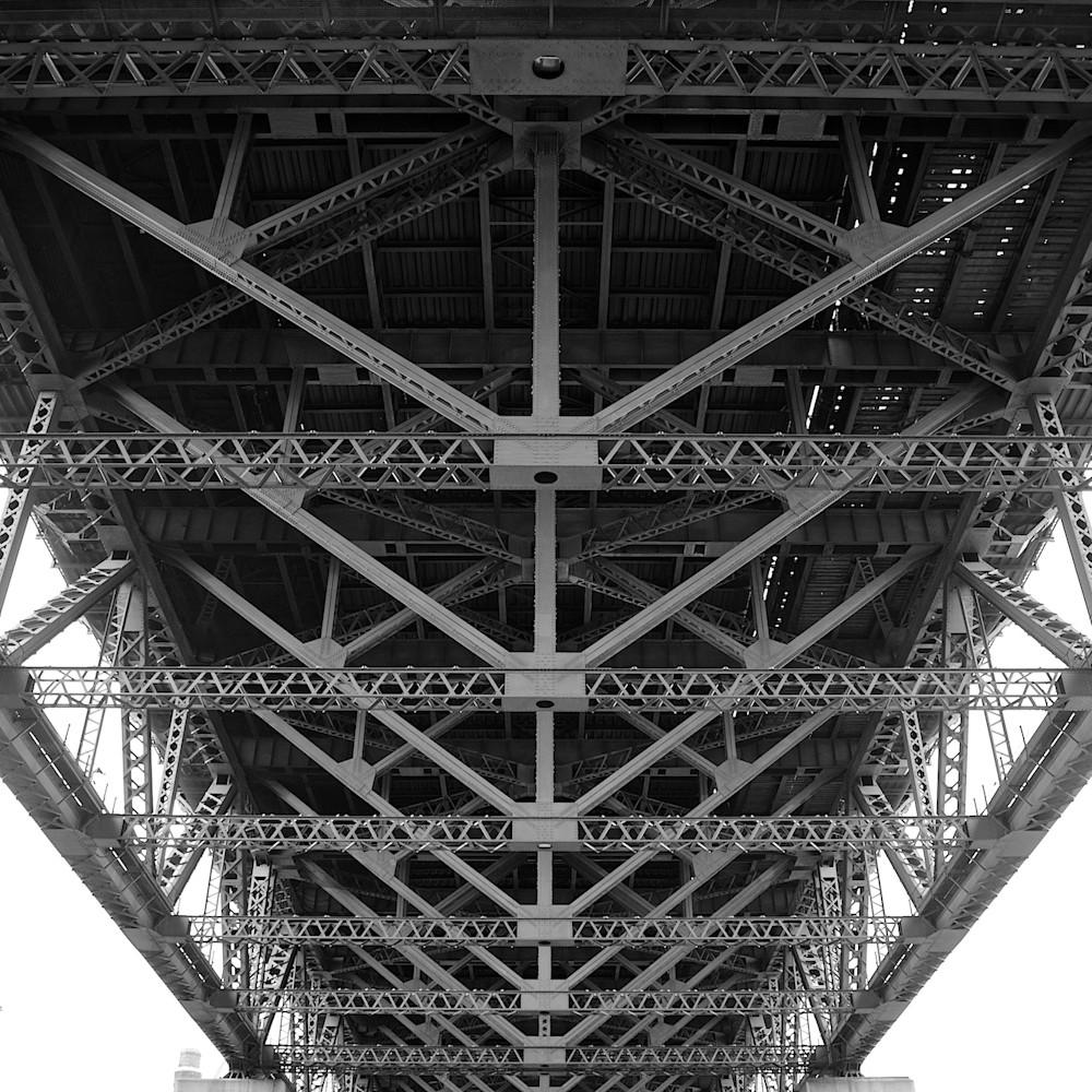 Bridges skeleton sydney harbour bridge sydney australia landscape photo print. kx58en