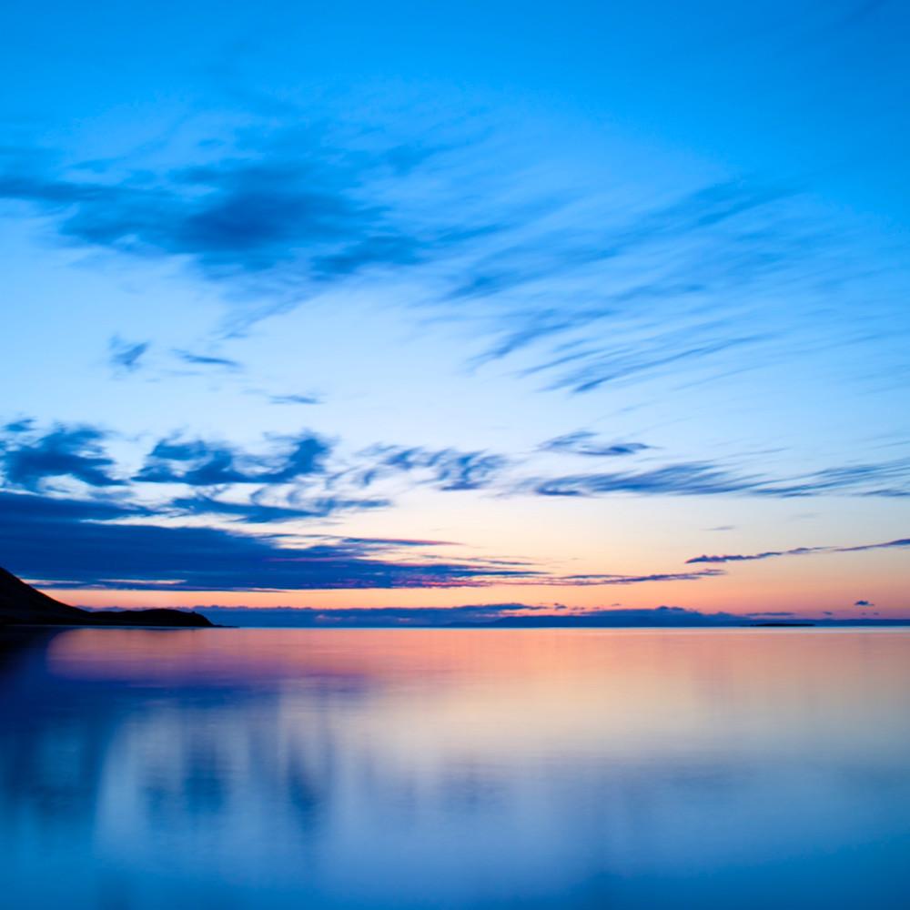 Apricot sunset grundarfjordur snaefellsness peninsular iceland limited edition zvaqp4