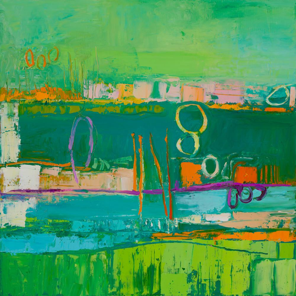 Tracy lynn pristas abstract artwork prints greens x3iyn3