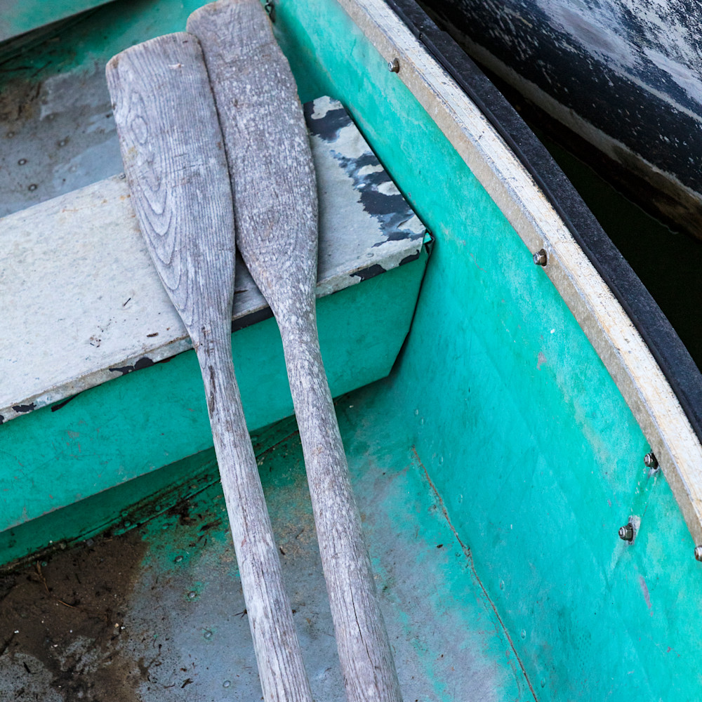 Chatham fish pier rowboat and oars ha5z5z