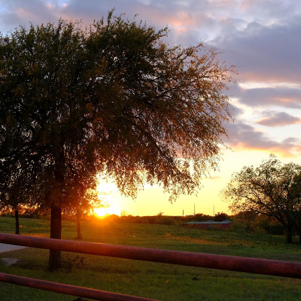 Sunset over texas 40 llugbl