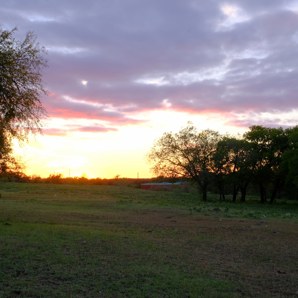 Sunset over texas 53 fvypbc