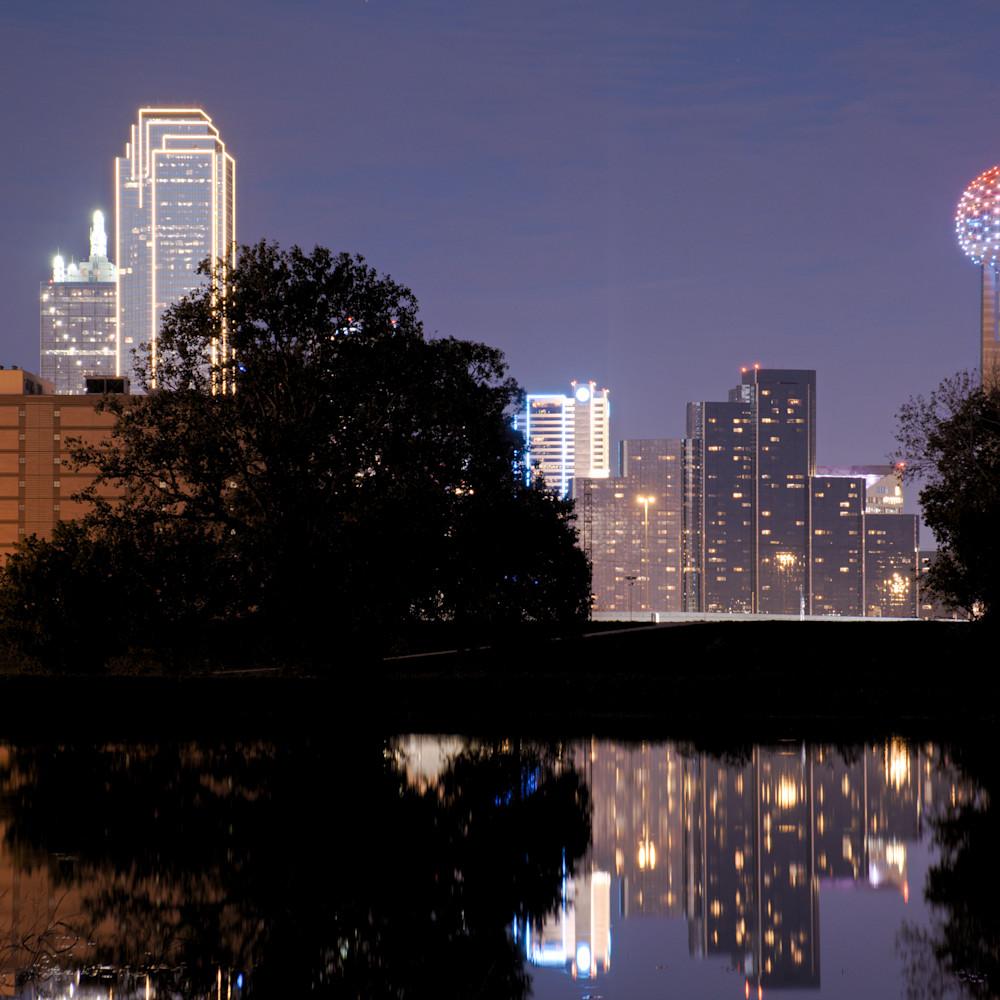 Dallas skyline at night 20 bxjhua