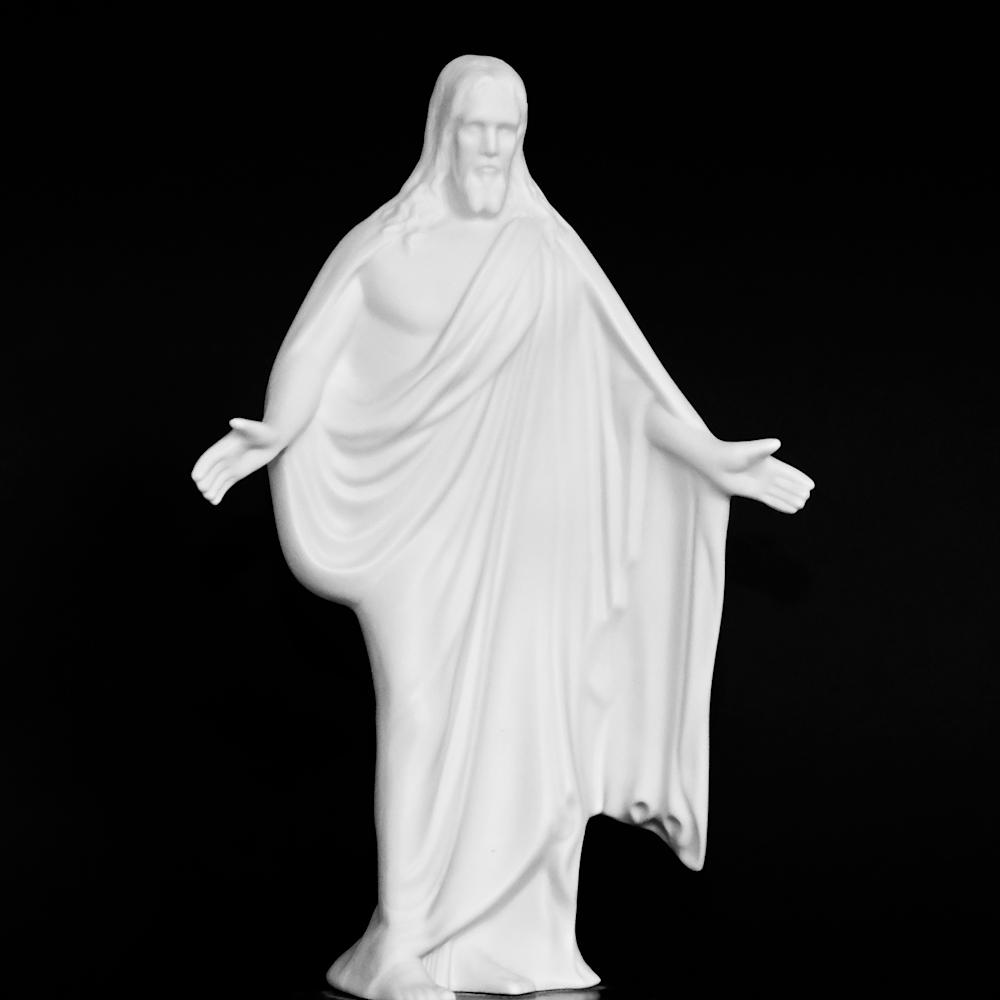 Light gray jesus x4tlic