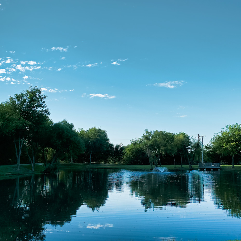 Pond in roanoke park 1 wxhvfp