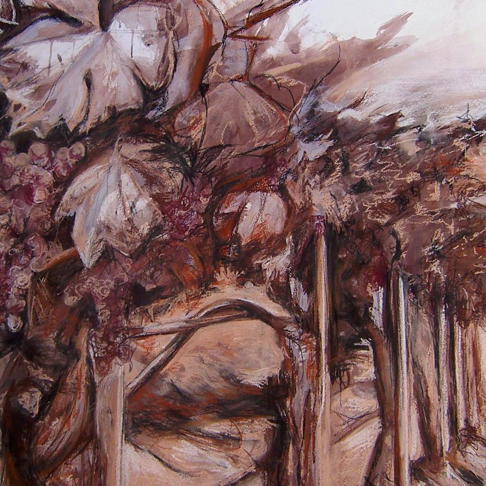 Vineyard at dusk 22x28 ahq9vz