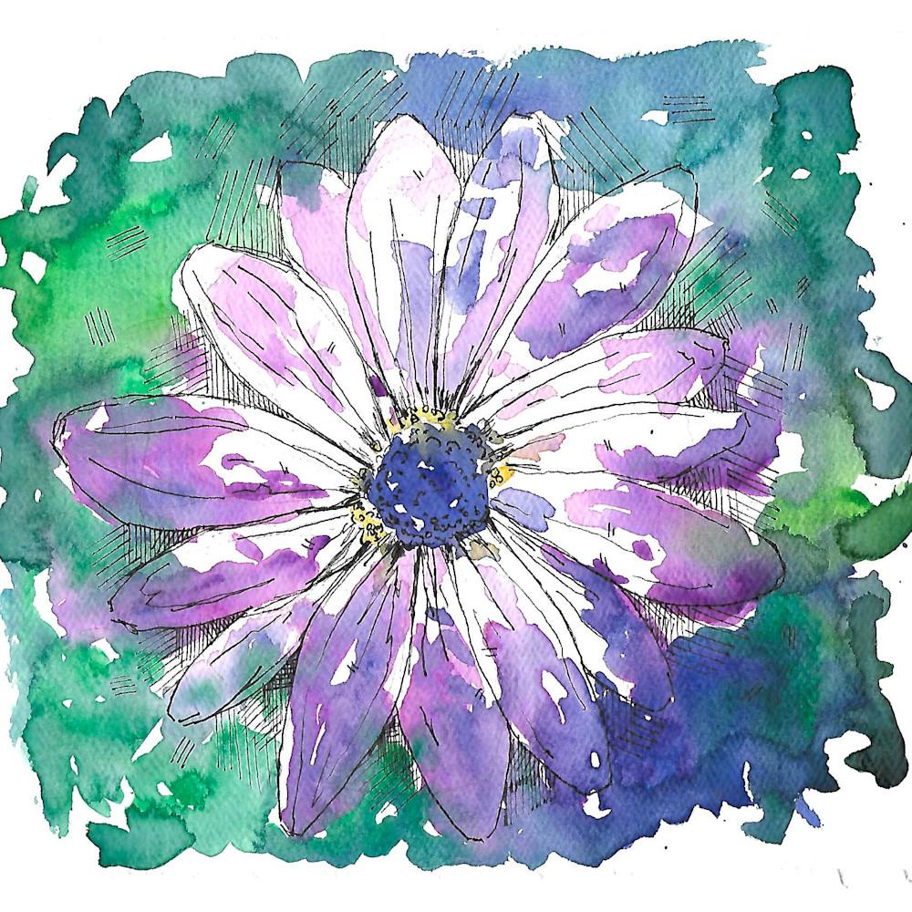 Purple flower dzpdel