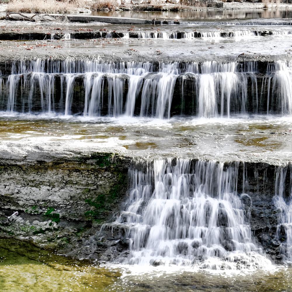 Waterfalls at airfield water park6 zdm2qj