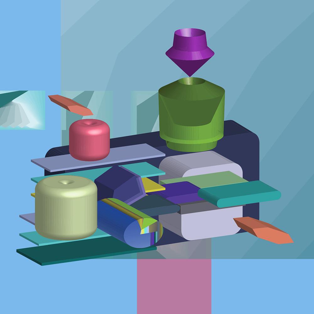 Caroline geys pindrop cubes pershing square 5in x1nxbt
