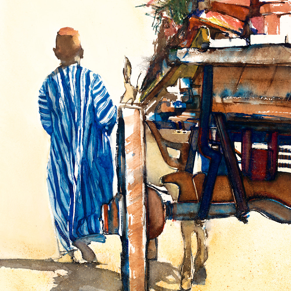 Man with a cart large file jpg ping signed iibrpr