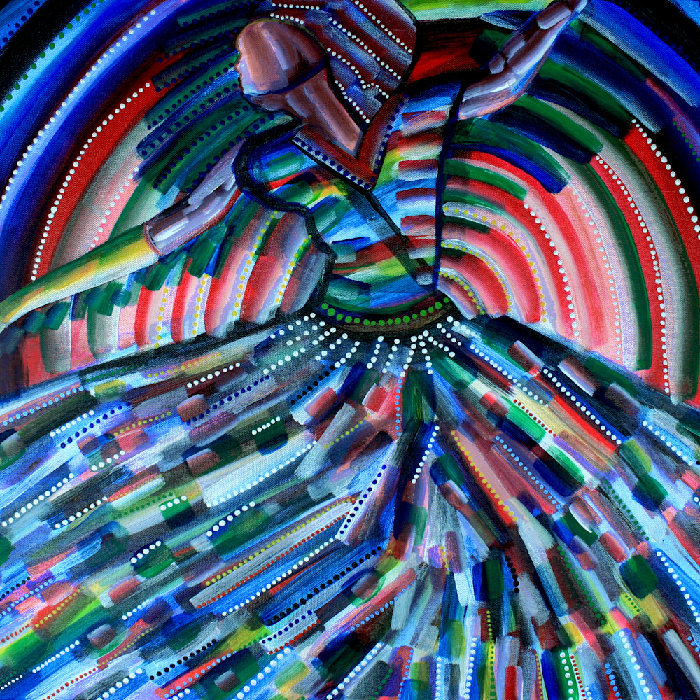 Dancing in the sun 60x80cm acryliconcanvas ppn7lw