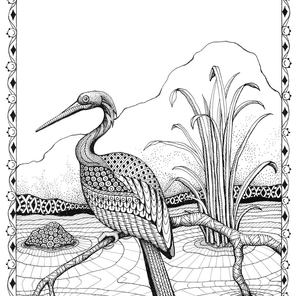 Heron  border oawgdh