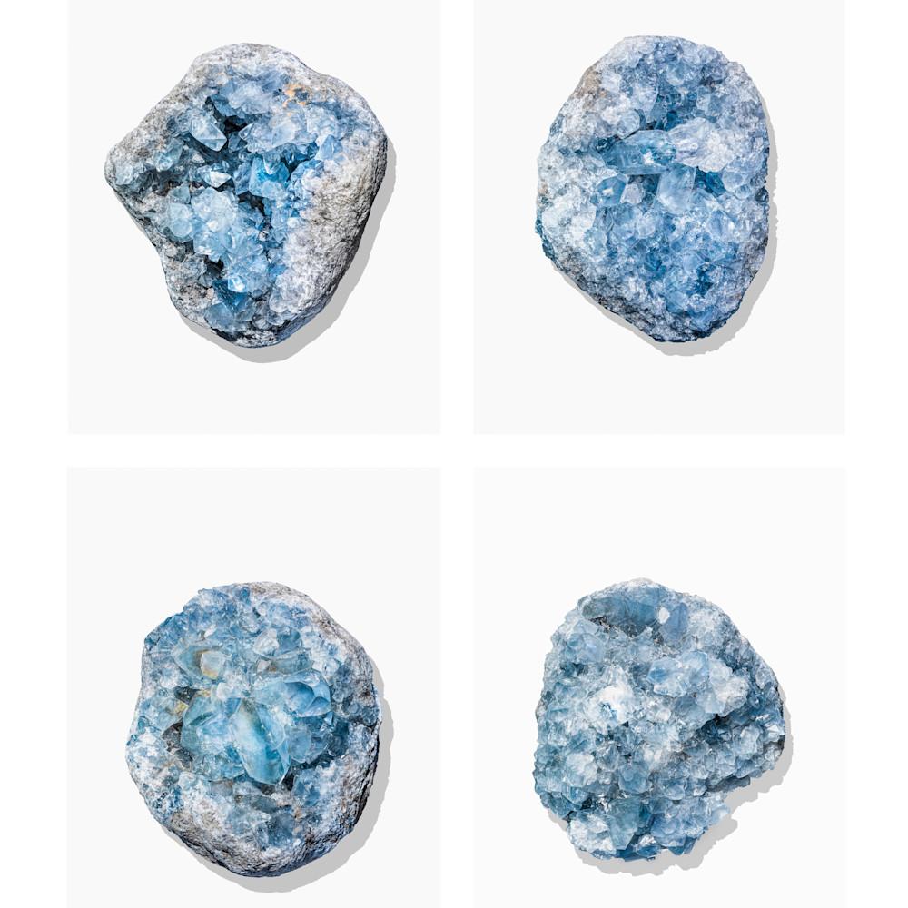 Timothy hogan blue geodes 4up xqaros