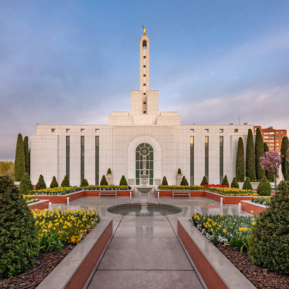 Madrid spain temple   covenant path robert a boyd web birerb