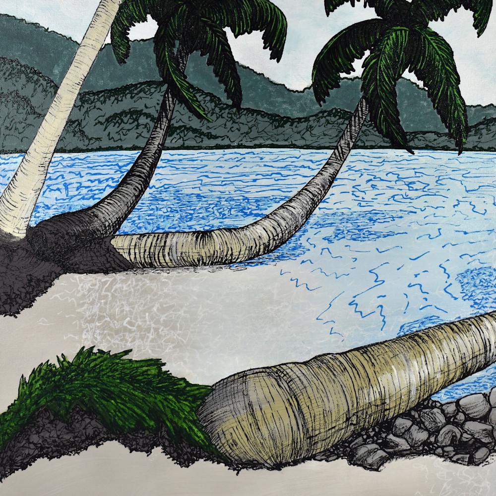 Palms on the beach 300dpi kuy14y