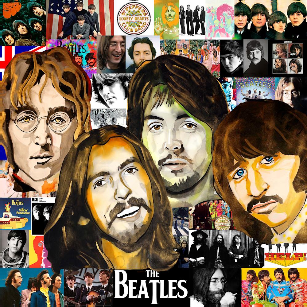 Beatles pop 2 dtkfm8