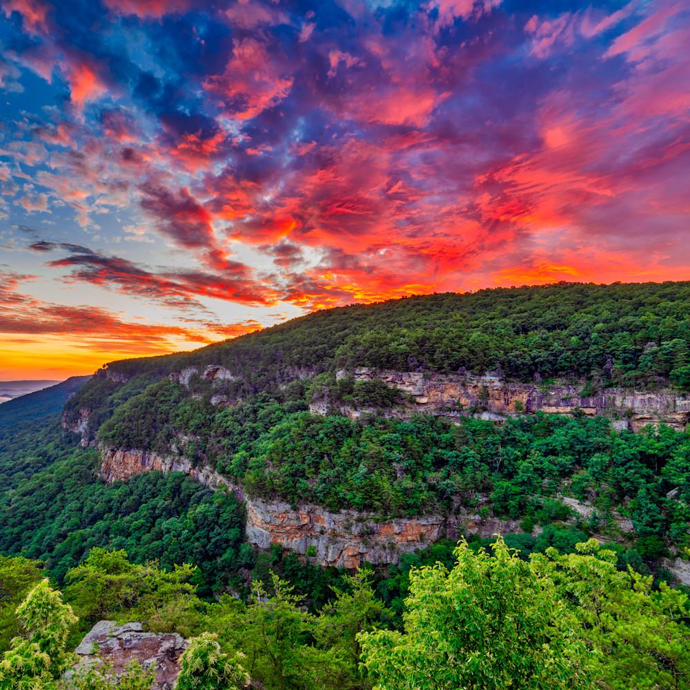 Andy crawford photography sand mountain sunrise cloudland canyon s1suqj