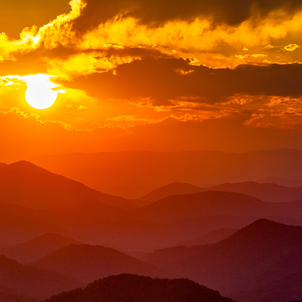 Andy crawford photography albert mountain sunset qzbhhc