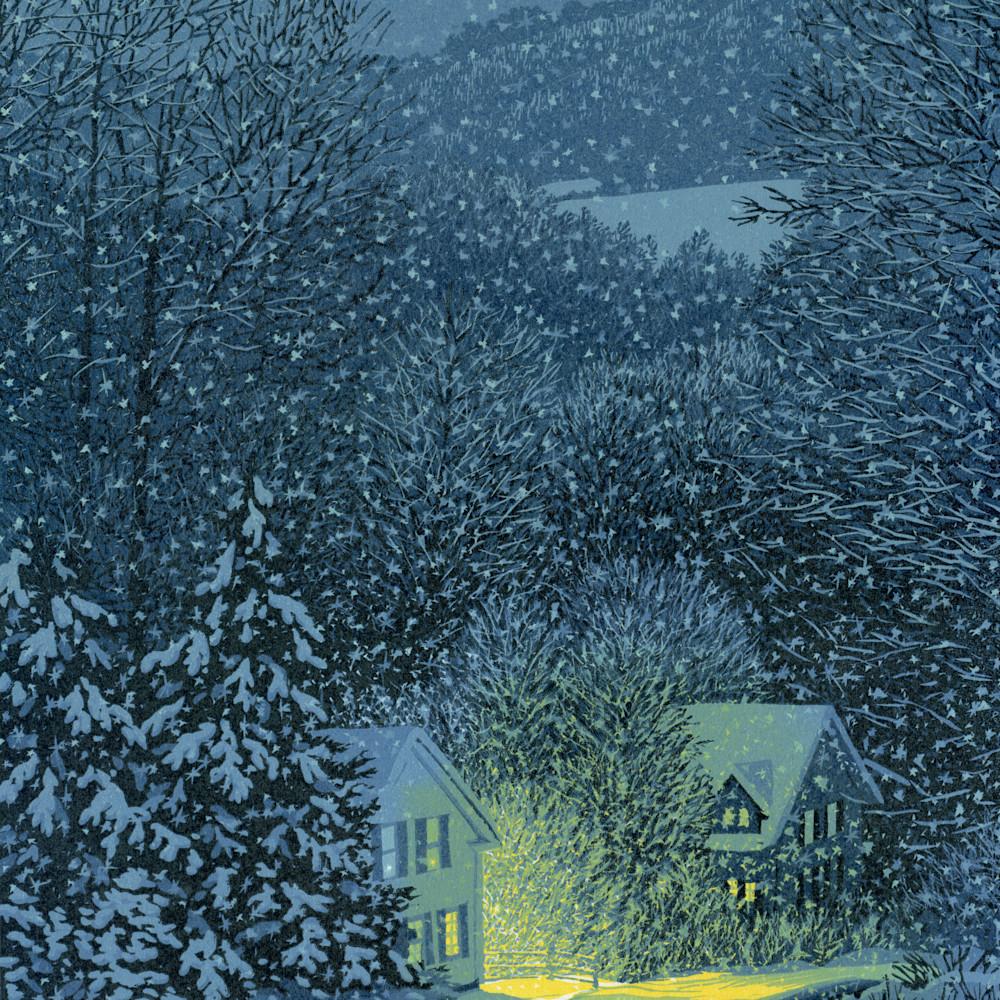 Nightfall snowfall fqrm6l
