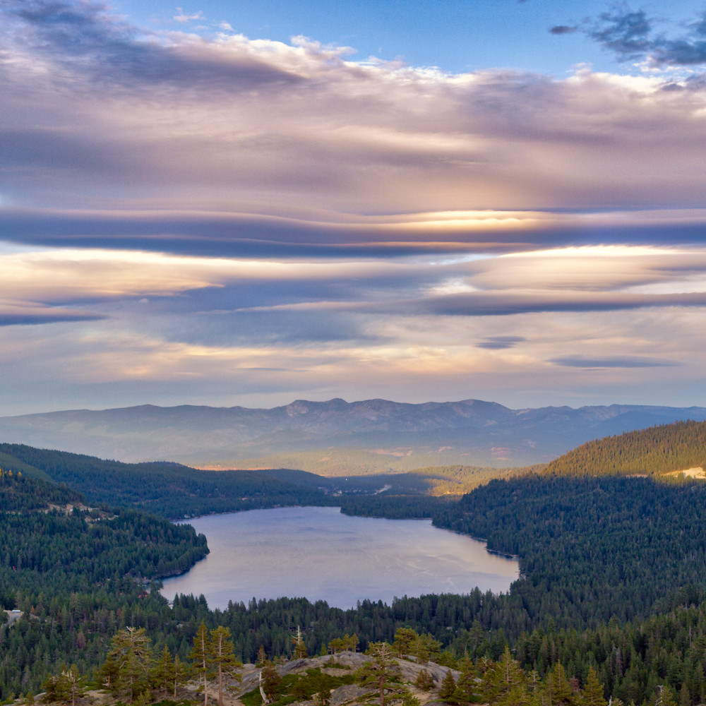 Lenticular sunset donner lake tijphm