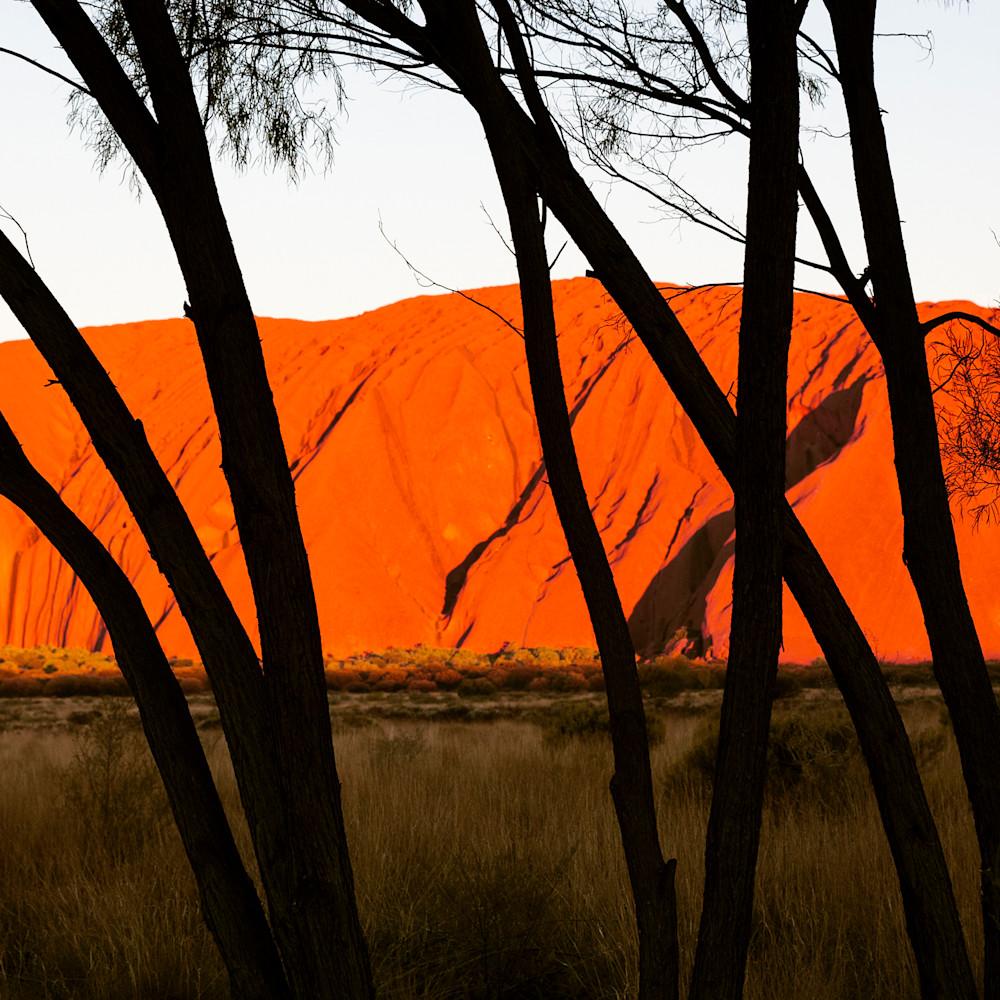 Ularu sunset abacyt
