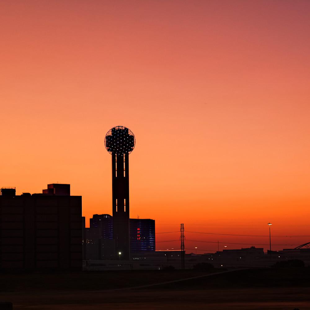 Dallas skyline at dawn 3 epnjnf