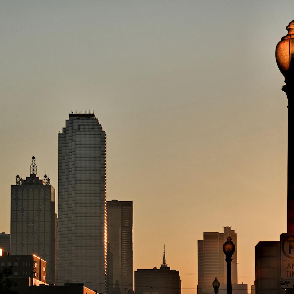 Dallas skyline at dawn 9 gubfl1