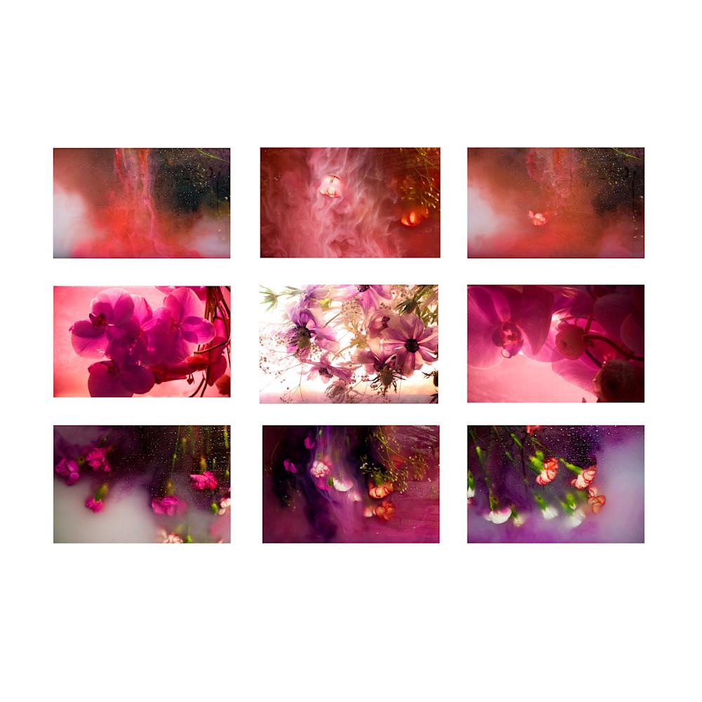 Pink crown chakra prints ashley g garner wetpaintnyc bqrlhg