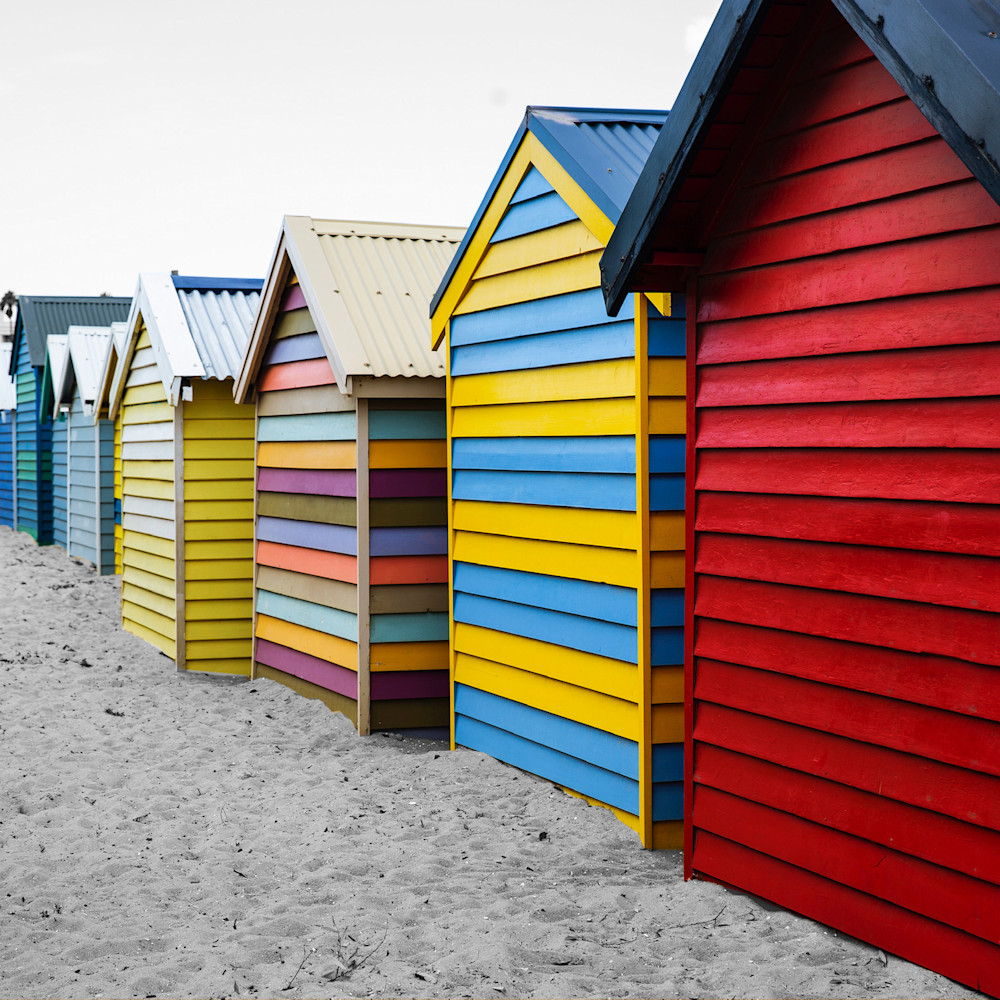 Brighton beach bathing boxes uskovd