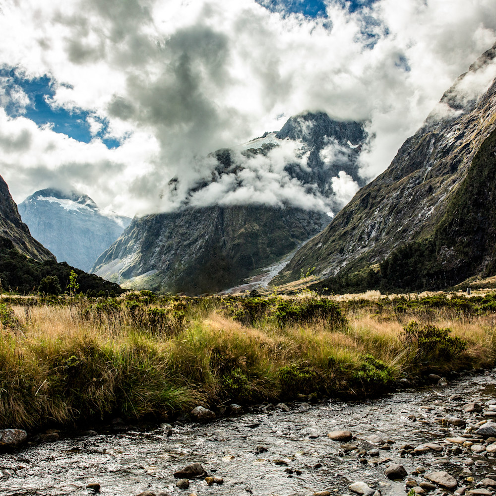 Fiordland valley stream ag3vbc