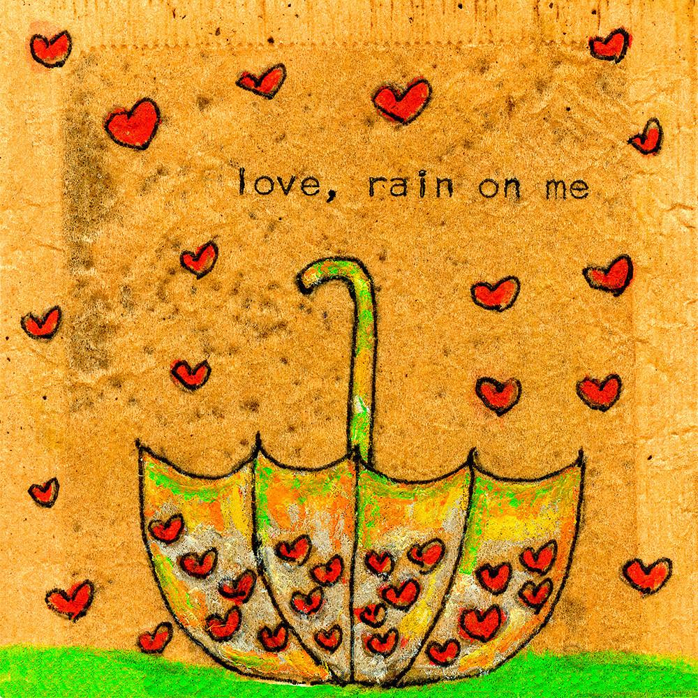 Love rain on me square hdevom