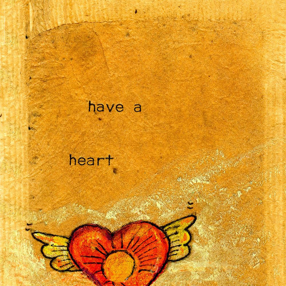 Have a heart square erjmxx