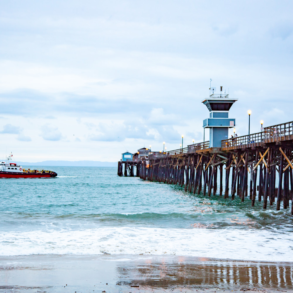Seal beach full pier 9 24x36 ptgjui