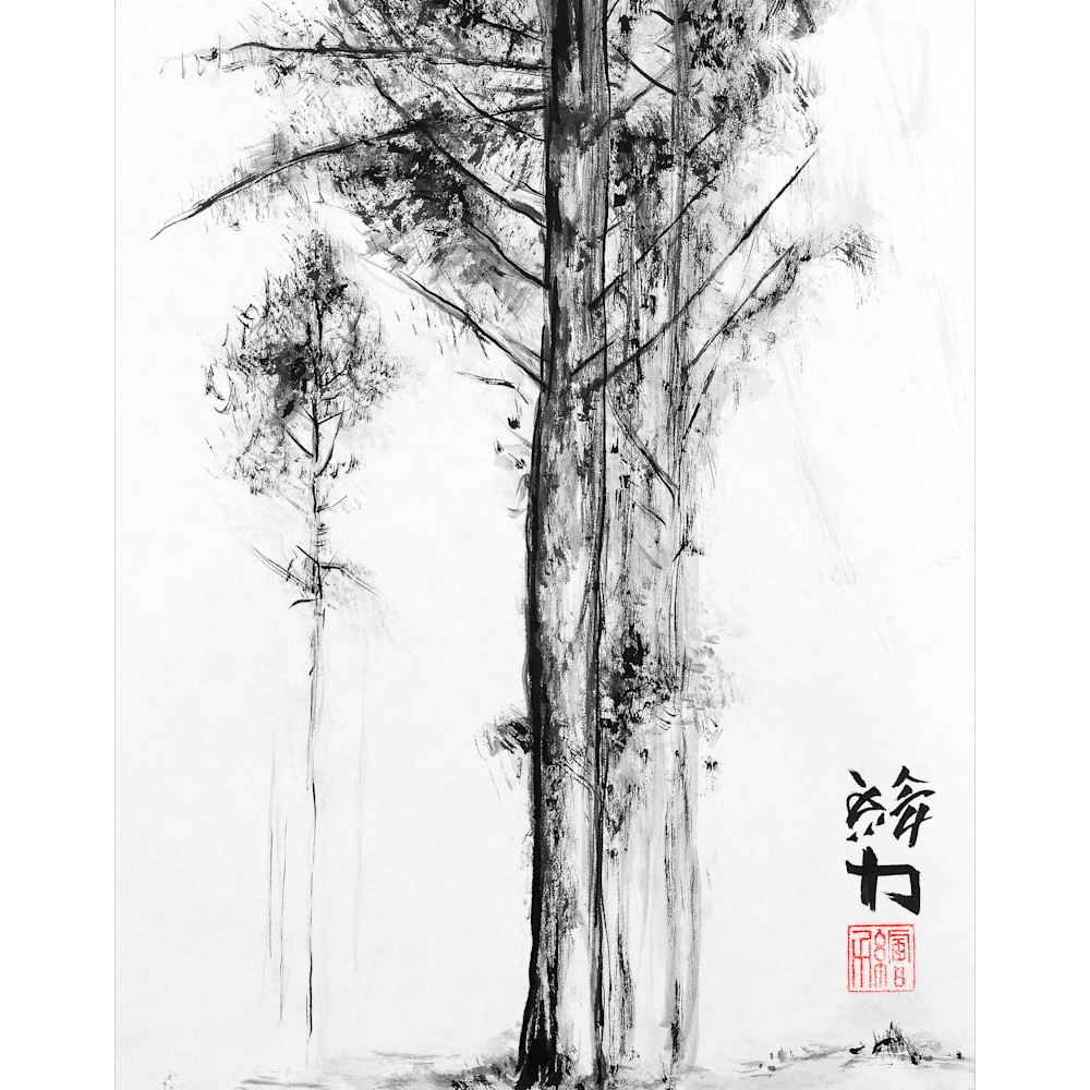 Hombretheartist sumie pinetree 5 forprint 111219 so81gv