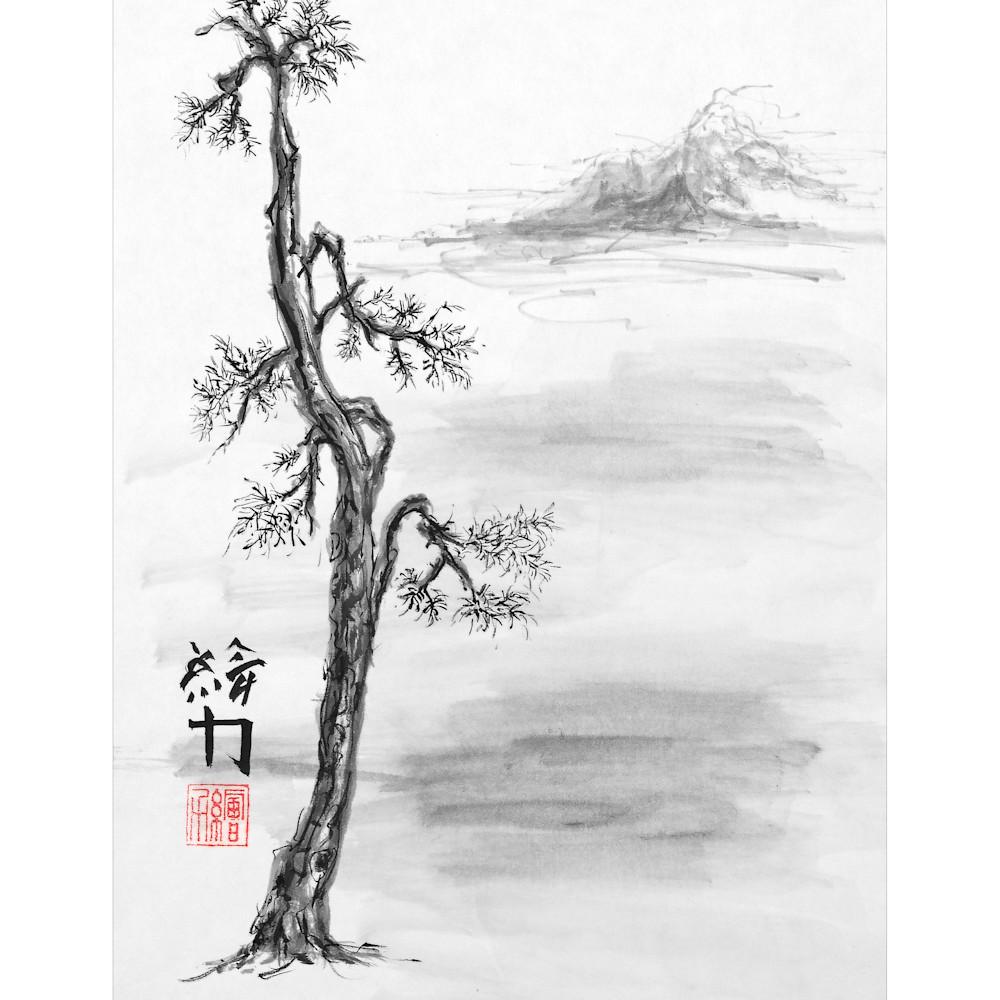 Hombretheartist sumie pinetree 4 forprint 111219 thxj5k