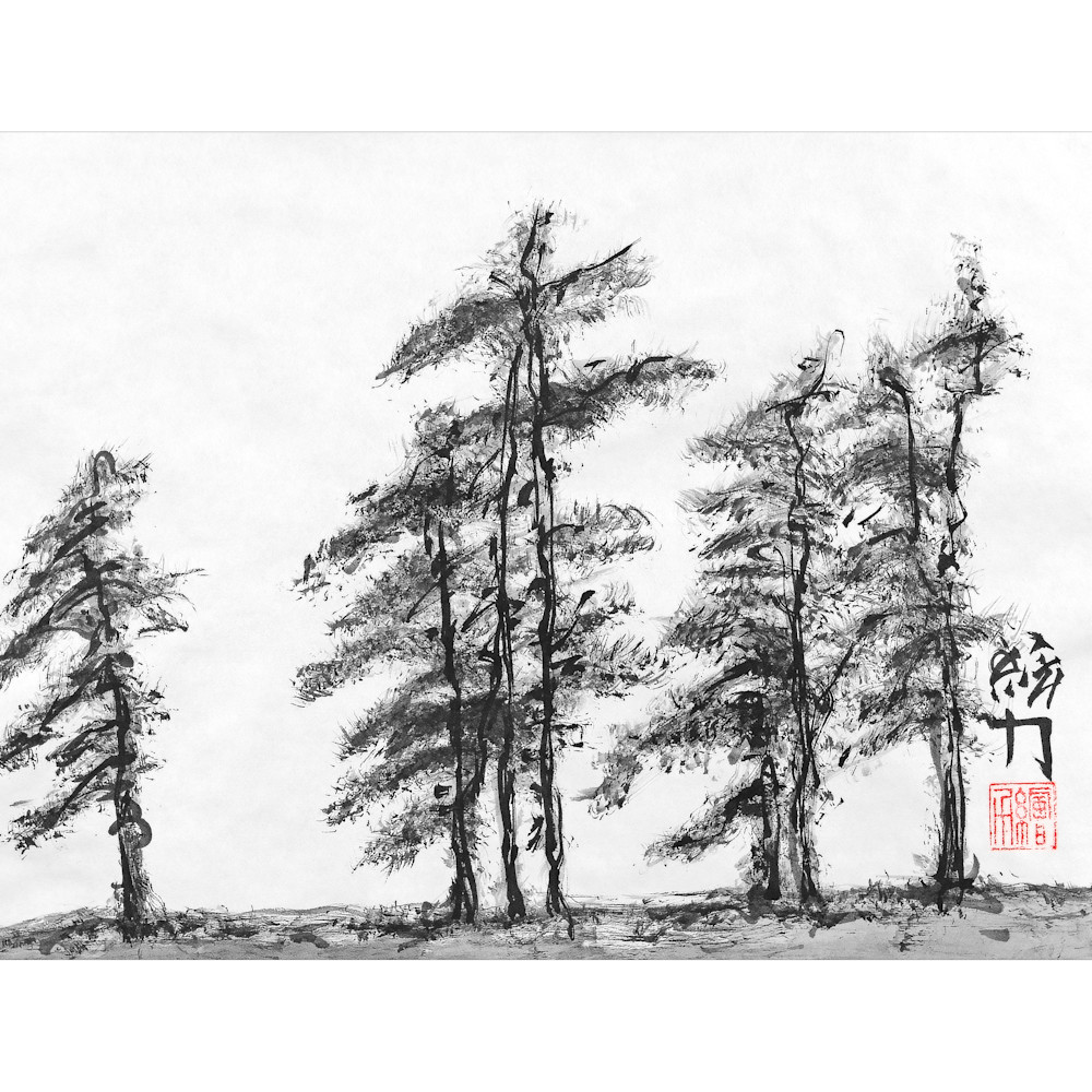 Hombretheartist sumie pinetree 3 forprint 111219 ylmp1g