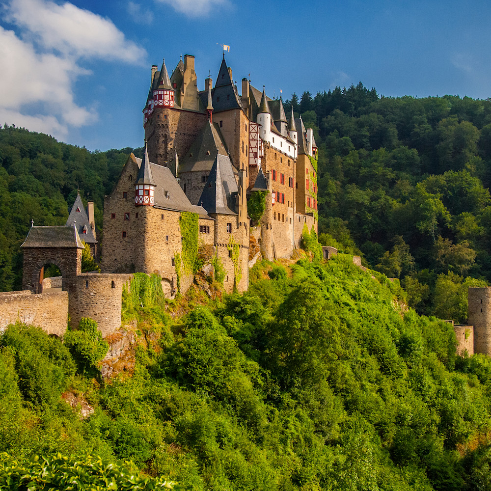 Eu ger burg elz castle mosel valley cd 11x14 pnxiub