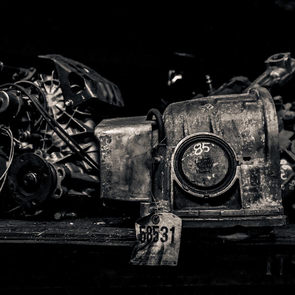 Scrap yard engine block nlshgh