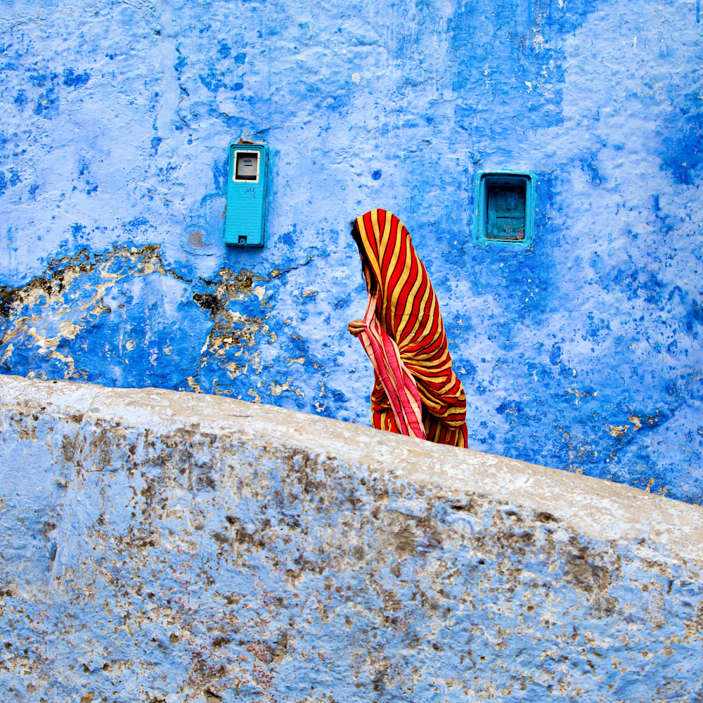 Red yellow chador blue city dbydtu