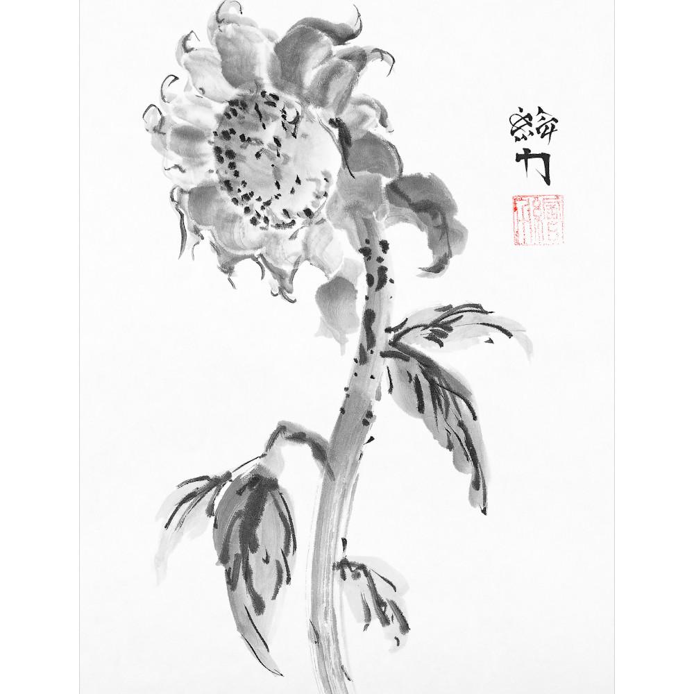 Hombretheartist sumie flower 2 forprint 120619 s9kgwu