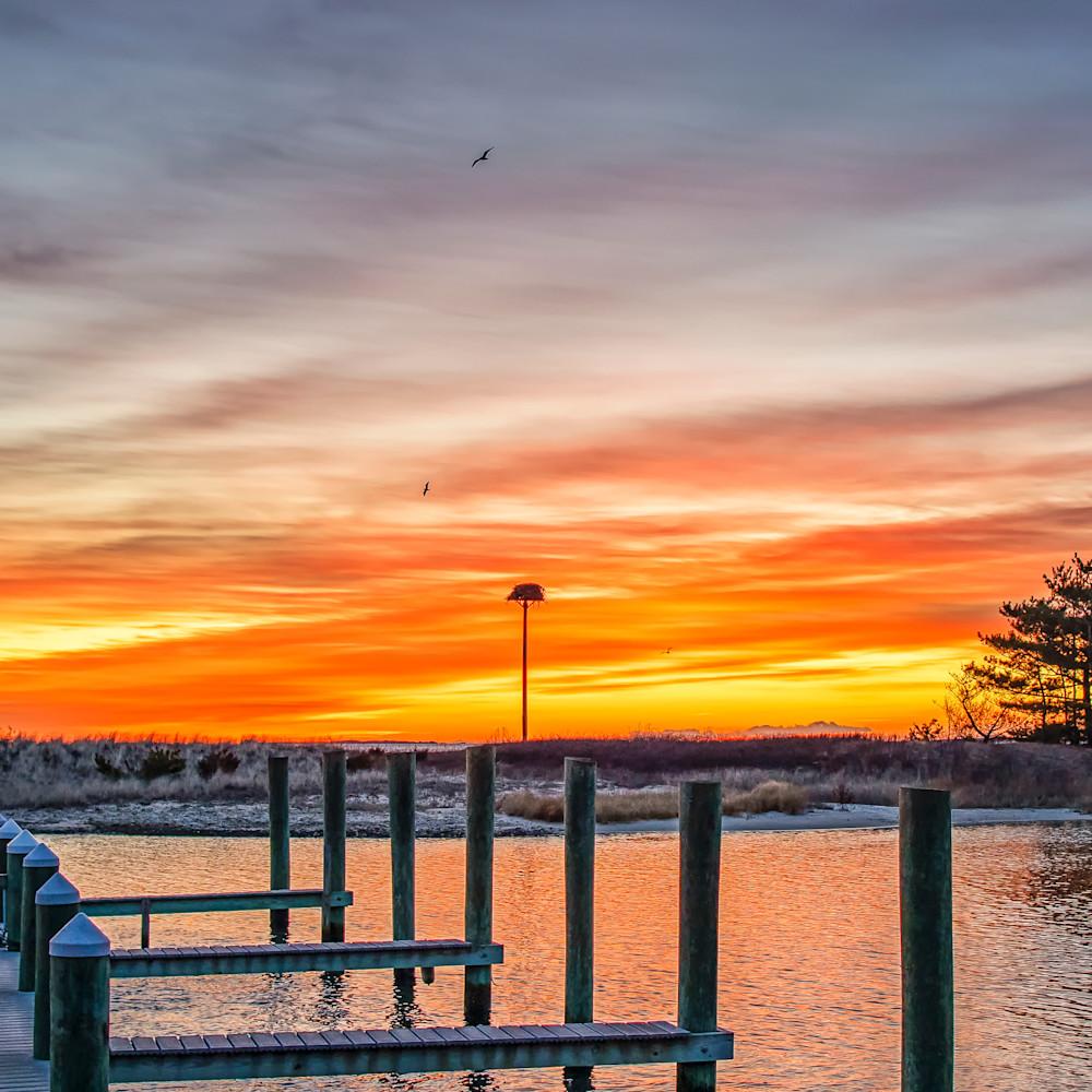 Harthaven winter sunrise vserht